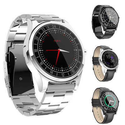 Bluetooth Smart Business Watch Heart Rate Blood Pressure Monitor For iOS Android