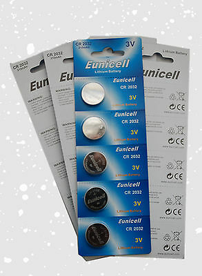 100 CR2032 2032 DL2032 GONow ECR2032 5004LC Card 3V Lithium Button Battery