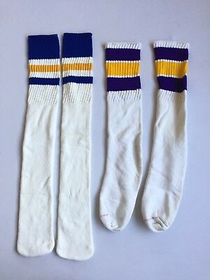 VINTAGE 60s 70s 80s MENS TUBE SOCKS OLD SCHOOL DEADSTOCK Sports new Lot
