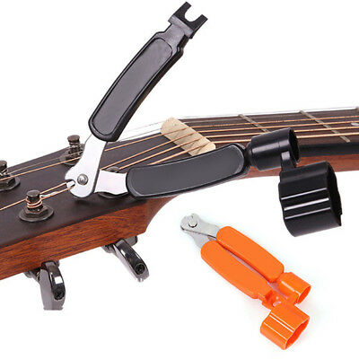Tool Mandolin Banjo Instrument Pin Puller Guitar Winder Clipper String Cutter