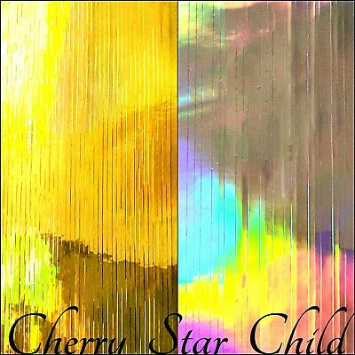 gold silver rainbow holographic strip tape adhesive sheet for craft nails jewell