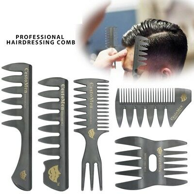 Man's Oil Head Combs Lightweight And Portable Hair Styling Combs Styling Tools
