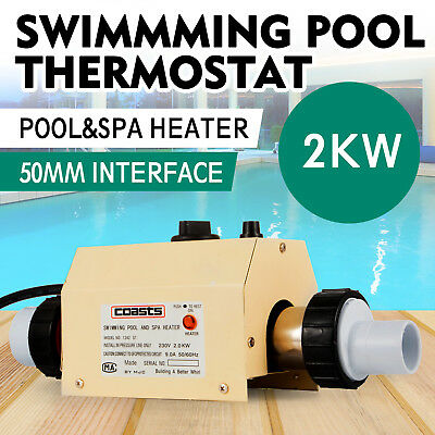 2KW Swimming Pool Heater Thermostat SPA Bath Hot Tub Water Heating Thermostat