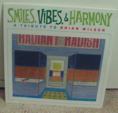 Smiles Vibes & Harmony Tribute to BRIAN WILSON BEACH BOYS -Sonic Youth Sealed LP