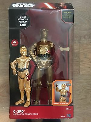 STAR WARS - C-3PO (50cm) - INTERACTIVE TOY - THE FORCE AWAKENS