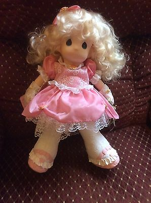 Precious Moments Amber Doll New In Box! Approx 17 Inches Tall! 1994