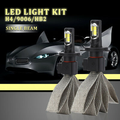 S7 H4 Auto LED Lampadine del Faro Kit Headlight 240W Bulb Hi Low Beam CSP LD1382