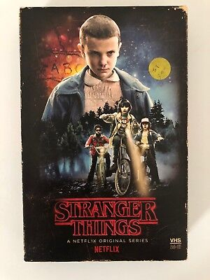Stranger Things Season 1 Blu-ray DVD & Collector's VHS Package lot of 3