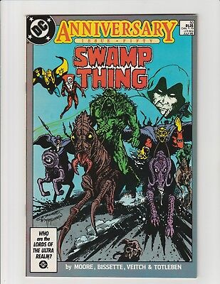 Swamp Thing #50 (DC 1986) 1st Justice League Dark VF