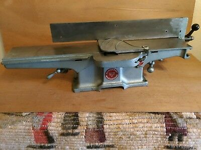 "Vintage Delta Rockwell Milwaukee Homecraft No 37-290 4"" Cast Iron Deluxe Jointer"