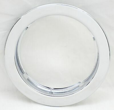 "light flange mount bezel 4"" with 3 studs chrome steel for Grand General lites"
