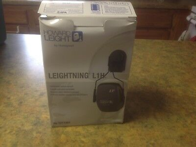 Leightning L1H Helmet Ear Muff Honeywell Hard Hat Hearing Protection 1011991