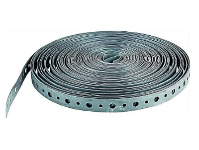 "100ft Roll Metal Hanger Strap Perforated 34100HANGER Galvanized Steel 3/4""x100'"