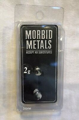 MORBID METALS PINK ZEBRA EAR PLUGS DIFFERENT SIZES TO CHOOSE FROM DOUBLE FLARED