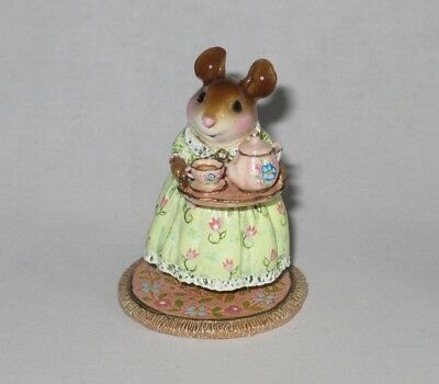 Wee Forest Folk M-594c A COSY TEA, Spring limited edition of 300