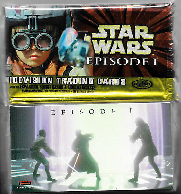 Star Wars Episode 1 Series 1 & 2 Widevision 1999 Topps - 2 Sets Trading Cards
