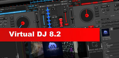 Virtual DJ 8.2 Pro Infinity  for Windows - FAST DELIVERY - Digital Download