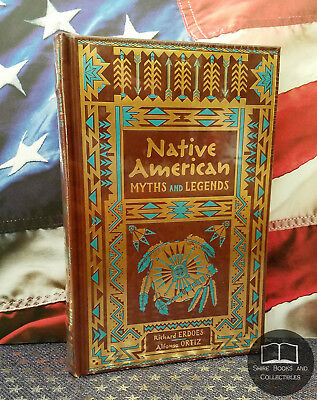 NEW SEALED Native American Myths and Legends Bonded Leather Collectible Editions