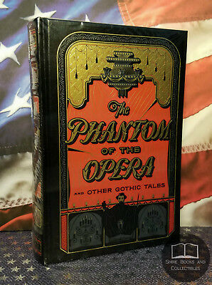 NEW SEALED The Phantom of the Opera and Other Gothic Tales Bonded Leather