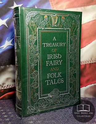 NEW SEALED A Treasury of Irish Fairy and Folk Tales Bonded Leather Collectible