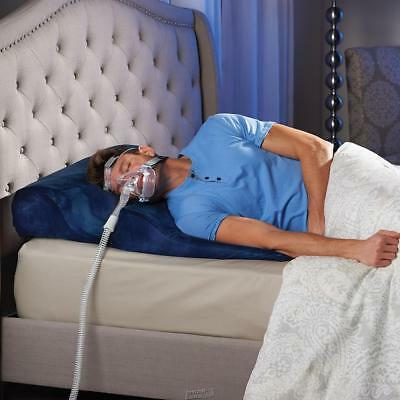 Hammacher Only Sleep Improving CPAP Bed Wedge Side Back Sleepers Foam Pillow