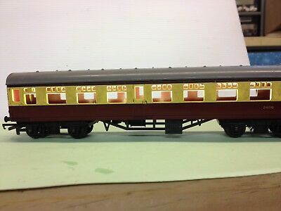 Set  Model Train Carriage Lighting