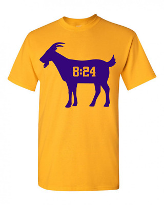 Kobe Bryant Los Angeles Lakers MAMBA T-Shirt NBA Basketball S-XL GOAT