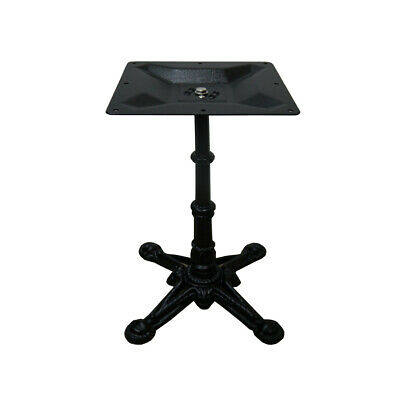 New Della French Style Pedestal Cast Iron Table Base Furniture Table Legs 700mm