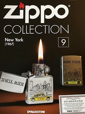 Original Zippo Feuerzeug die collection Nr. 9.             New York.   Neu !!!!!