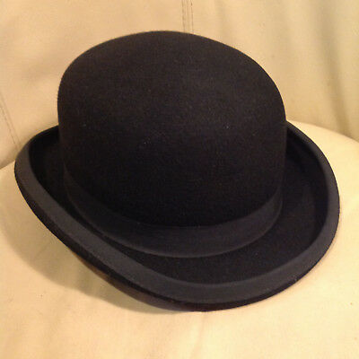 GENTS  BOWLER HAT - Burgess Hats Brand - 100% Wool - Extra Large ... 6aba4ee2e31