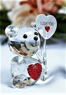 Crystal Bear Ornament    ~ Gift Boxed ~