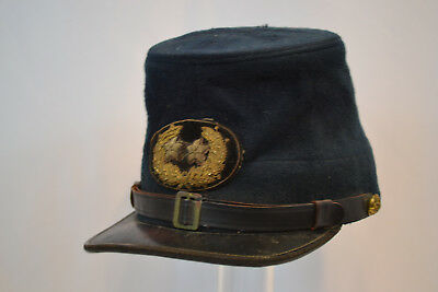Civil War Us Major General Cavalry Cap Kepi Rare Original Union Army