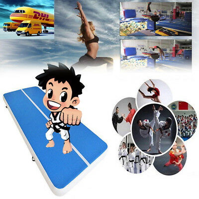 Air Track Gymnastics Gym Sport Yoga Mat Inflatable Tumbling Mat Air Pump Cushion