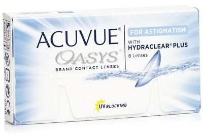 ACUVUE Oasys  - For Astigmatism Hydraclear Plus D -2.0 / Cyl -1,75 180  to 19/02
