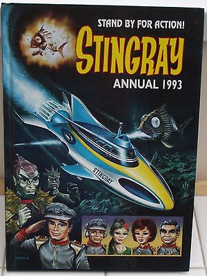 Stingray Stand By For Action 1993 Hardback Annual Good Condition