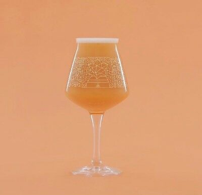 New Hudson Valley Brewery GOLD Multichorus TeKu Glass Rare Limited Edition