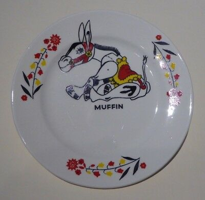 """Vintage 1950s Muffin the Mule plate - childrens' nursery ware - 5"""" good cond."""
