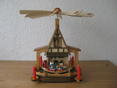 Weihnachts-Pyramide Holz