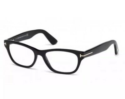 42500e9bfe3 Tom Ford TF 5425 TF5425 001 Women Eyeglasses Black Authentic 53mm Authentic  New