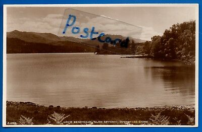 Rp Postcard Loch Beneveian Glen Affric Inverness-Shire Nr Cannich Tomich Cougie