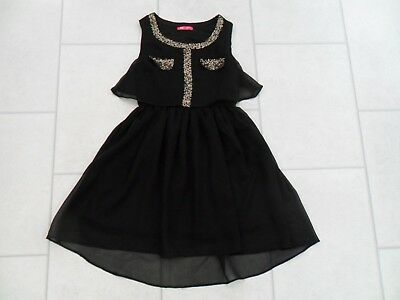 GIRLS PRIMARK BLACK Party Dress Age 9 10 Years VGC - £4.99  0c5a5f055