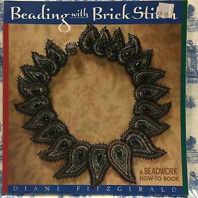 Beading with Brick Stitch by Diane Fitzgerald (Paperback, 2001)