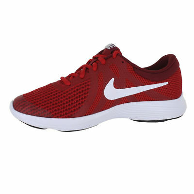 fe7a8ca155cd NIKE REVOLUTION 4 (GS) GYM RED WHITE TEAM RED BLACK Sneakers Shoes Big Kid