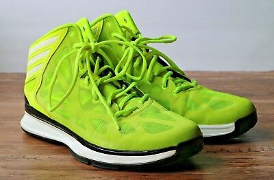 the best attitude 94a99 a9751 Adidas Crazy Shadow 2 Mens Basketball Shoes Yellow VoltBlack Size 11  Q33388