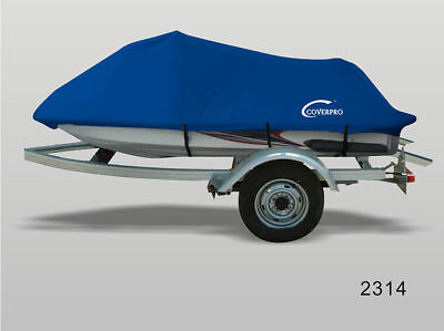 BLUE JET SKI PWC Cover for Yamaha WaveRaider Deluxe 94-97