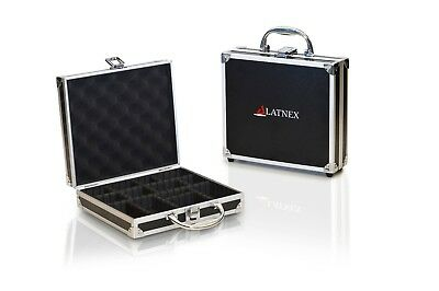Aluminium Carrying Case for Electronics with Organizing Dividers