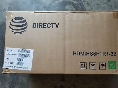 DirecTv HDMI Cable 6 ft Black Lot of 180 36 bags of 5