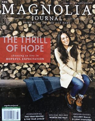 The Magnolia Journal Magazine #9 Winter 2018, Inspiration For Life & Home.