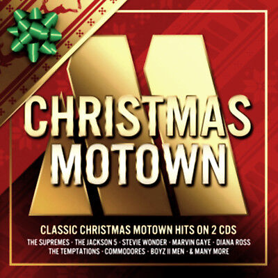 "MOTOWN CHRISTMAS * 46 Greatest Hits* Import 2-CD SET *Temptations ""Silent Night"""