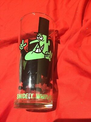 Pepsi Collector Series Snidley Whiplash Glass Vintage Cartoon Character